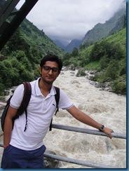 Praveen @ Govindghat Bridge