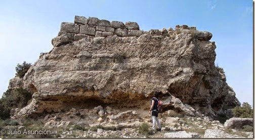 Castellar de Meca - Torreón oriental