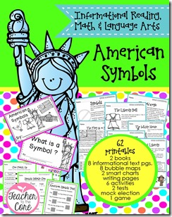 American Symbols ELA & Math 2014 Cover