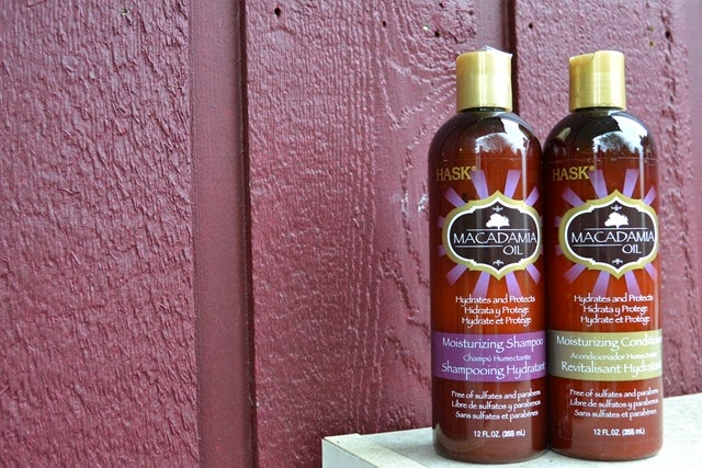HASK Macadamia Oil Shampoo and Conditioner