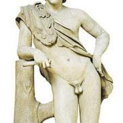 78 - Praxiteles - Satiro en reposo