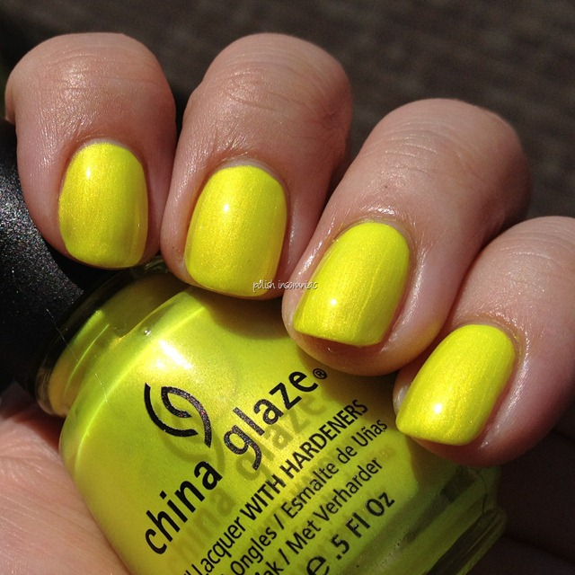 China Glaze Sunkissed (Summer Neons) 2