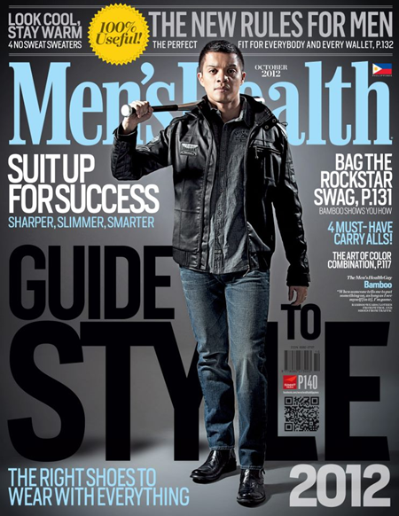 Bamboo covers Men's Health Ph Guide To Style 2012