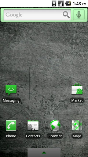Green Droid Theme