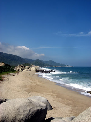 some more nice beaches on the way - Tayrona