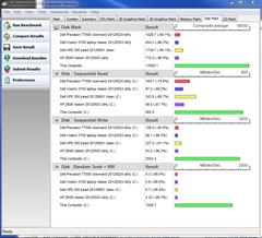 benchmark - disk