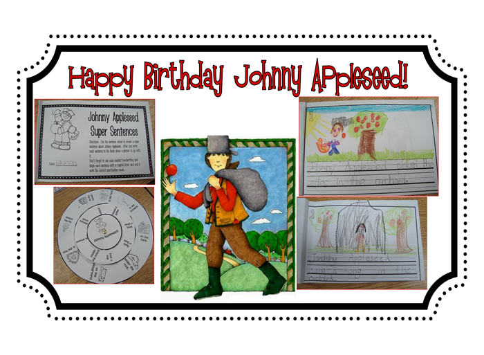 Johnny Appleseed birthday
