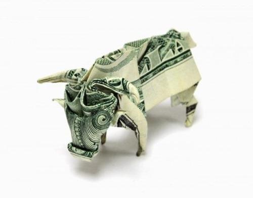 Origami de dinheiro 01