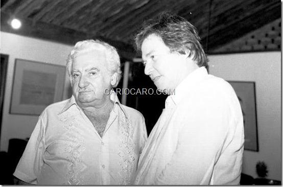 Jorge Amado e Tom Jobim