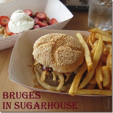 Bruges Waffle and Frites and Burger Saley
