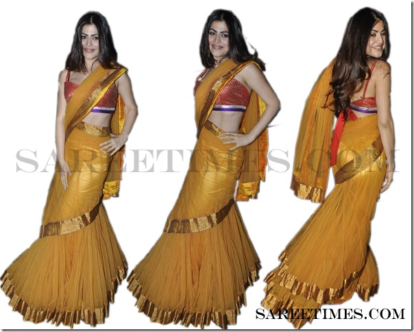 Shenaz_Treasurywala_Gold_Designer_Saree