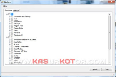 Hapus Duplikat File di Windows 7 dengan No Dupe
