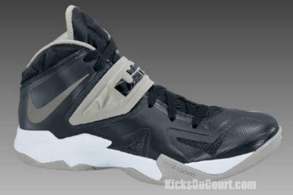 black and white lebron soldier 7