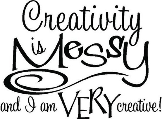 Creativity is Messy Sew Unique Creations