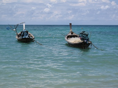 LongTail Boats Nai Yang Beach
