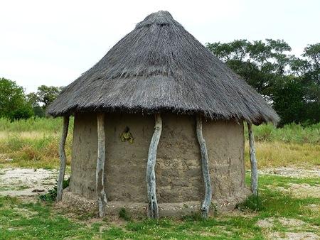 Boro hut.