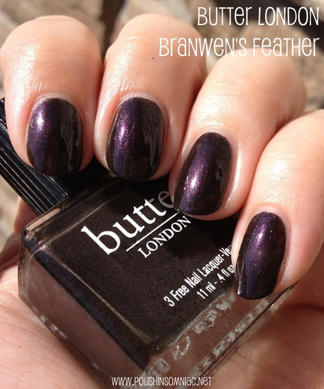 butter LONDON Branwen's Feather 3