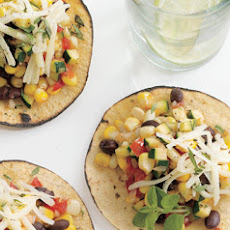 Zucchini and Corn Tacos