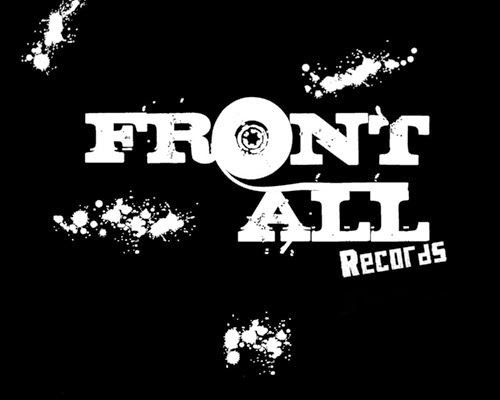 FrontAll Records Wallpapper invers