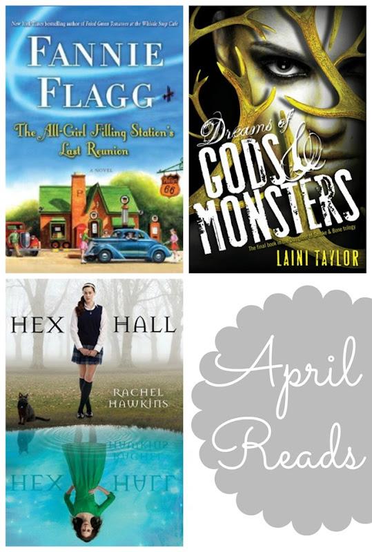 April 2014 Reading List // www.maybematilda.com