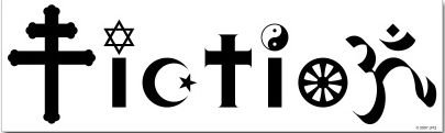 religion is fiction