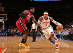 lebron james nba 130301 mia at nyk 17 LeBron Debuts Prism Xs As Miami Heat Win 13th Straight