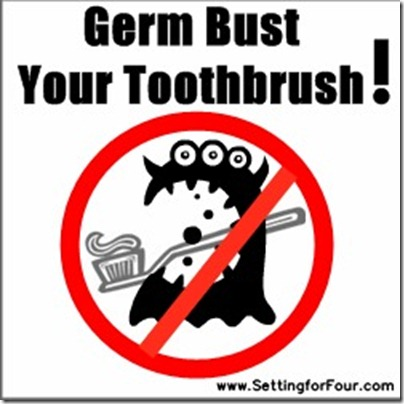 How to Clean Your SpinbBrush from Setting for Four #clean #tip #spinbrush #germ