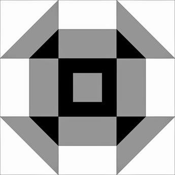 Block 5 Double Churned gray