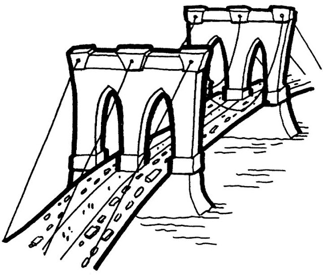 brooklyn bridge coloring pages - photo#24