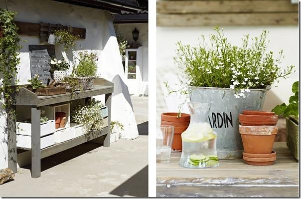case e interni - casa Norvegia - Scandinavia -  shabby chic - bianco (3)