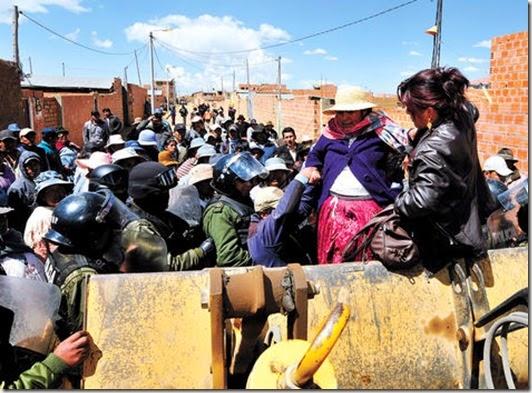 Conflictos en El Alto