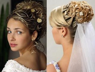 beautiful Bridal hair styles
