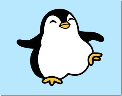 pinguino-bailando-animales-el-mar-pintado-por-daaf-9725935