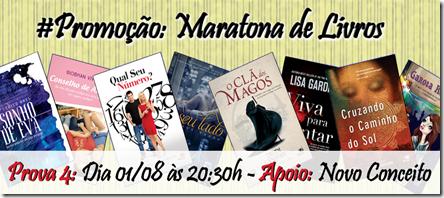Promo º úo Maratona de Livros - Prova 4