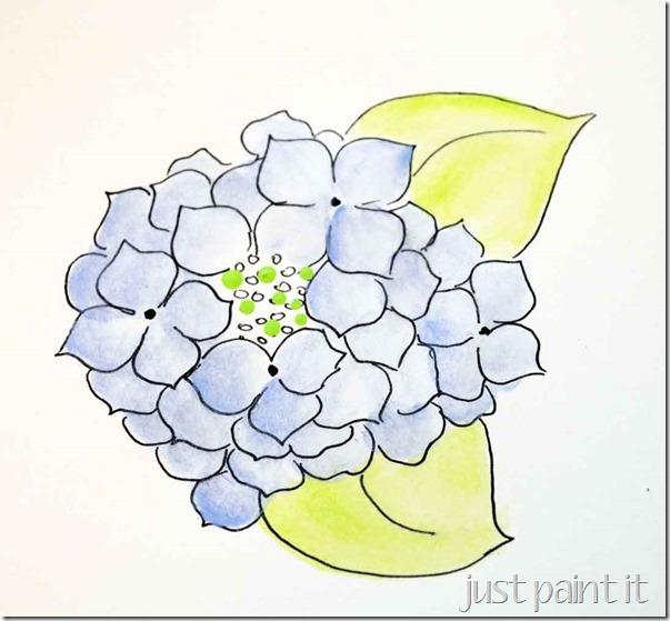 paint-hydrangea-B