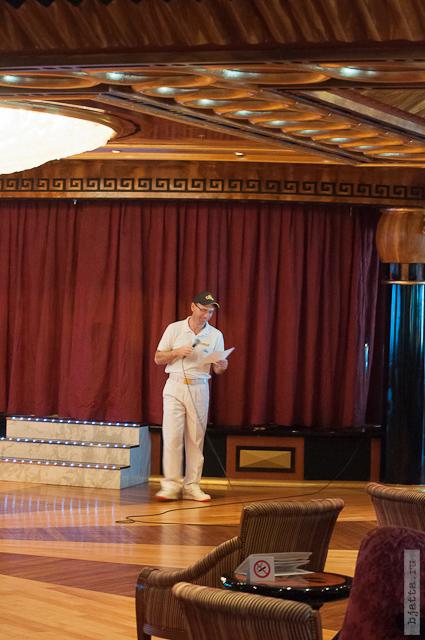 15. Круиз на Costa Concordia. День 7-й. Морской день, из Фуншала в Малагу, через гибралтар. Немного анимации.
