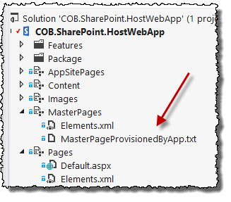 Provisioning to app web initially