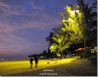 沙巴亞庇丹容亞路海灘夕陽 Perdana Park音樂水舞 (22)
