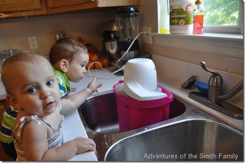 Big Red, homemade ice cream, big red ice cream, kids in the kitchen, ice cream