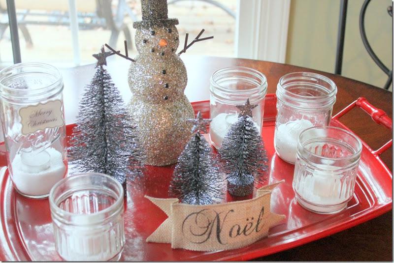 Christmas Snowman Tray 012