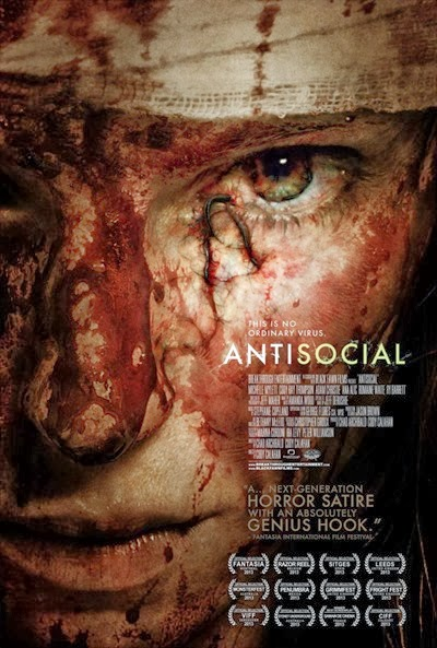 Antisocial 2013 movie poster
