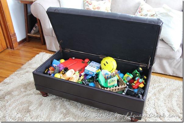 Storage Ottoman for Toys