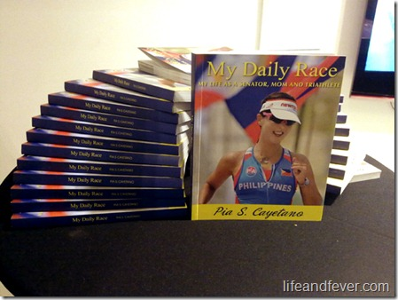 My Daily Race Book Launch