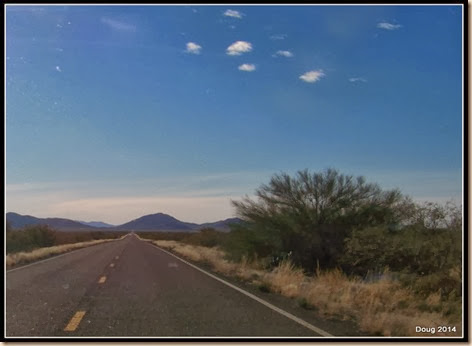 Highway 60 heading toward Quartzsite