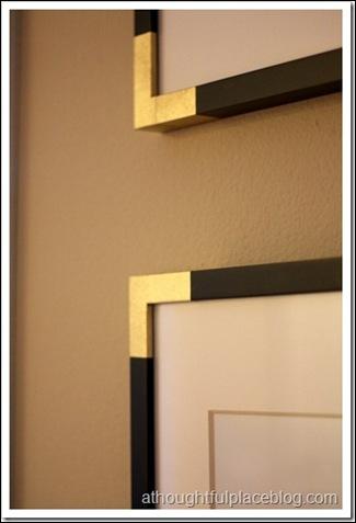 brass corner frame