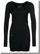 ECD Black Knit Dress