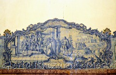 Glória Ishizaka - Mosteiro de Alcobaça - 2012 - Sala dos Reis - azulejo 5