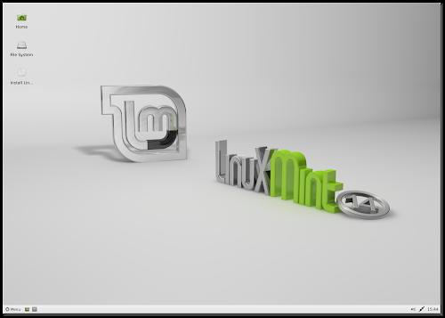 Linux Mint 14 Nadia XFCE RC