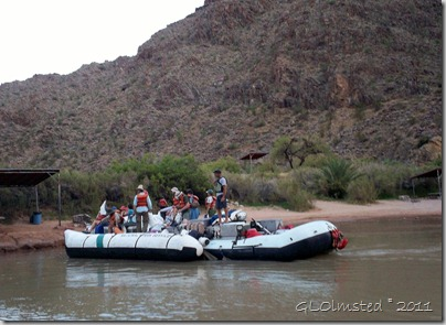 06 Staff on the S-rig at Diamond Creek camp & pull out ~RM225.8 Colorado River trip Hualapai Reservation AZ (1024x744)