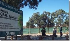 Obras de embellecimiento en el Parque General Lavalle de Mar de Ajó - Presupuesto Participativo -